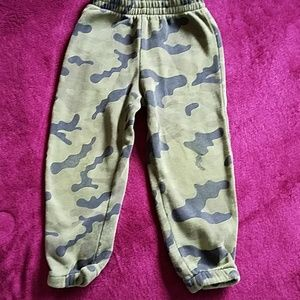 Toddler Camo sweat pants